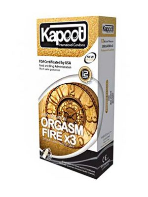 کاندوم اورگاسم آتشی کاپوت