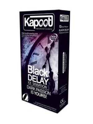 کاندوم مشکی تاخیری سرد کاپوت
