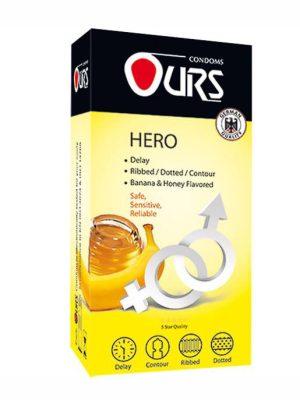 کاندوم خاردار تاخیری هیرو اورس